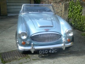 Stolen Austin Healey 3000 MK III DSO 42C - Please keep a look out for its whereabouts