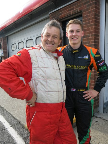 Father & Son - Bill & Jack Rawles will be sharing the Austin Healey 3000 MK II Racecar at this years Autumn Classic Event