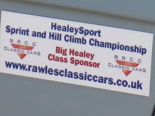Healey Sport Sprint and Hill Climb Challenge test day