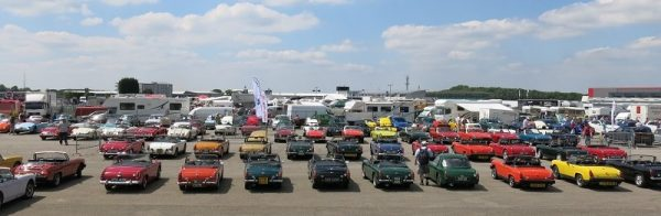 MG Live at Silverstone a great mixture of MG's rich heritage and exciting future