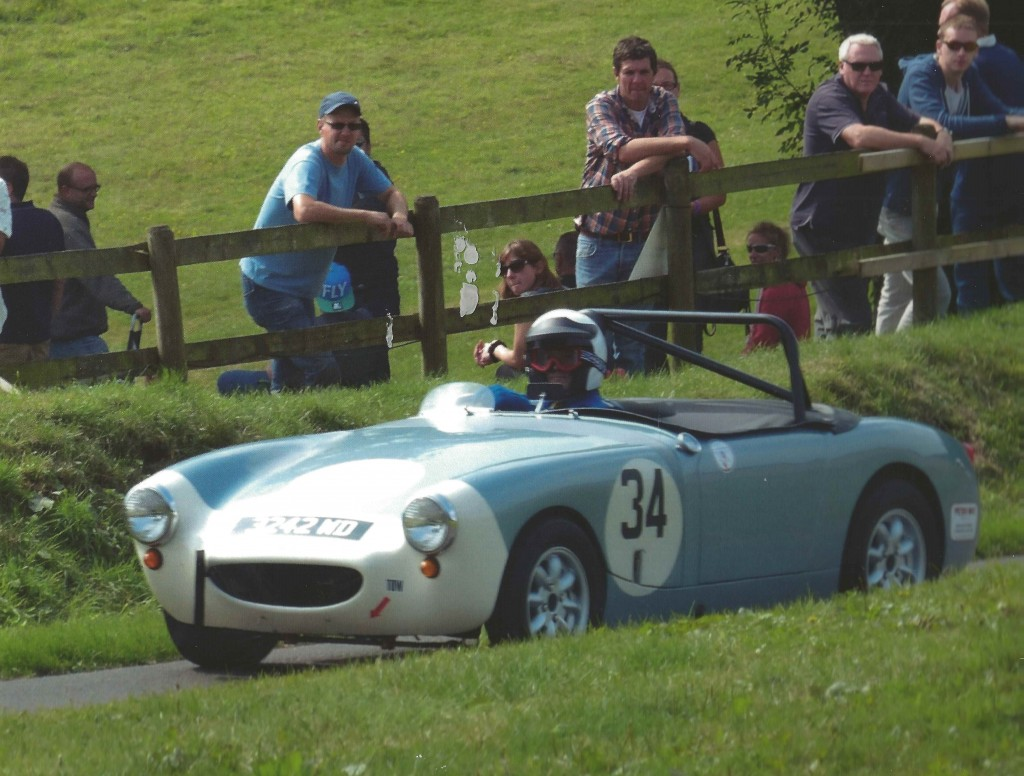 Round 1 of the Austin Healey Hill Climb & Sprint Challenge at Gurston Down