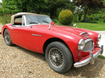 Austin Healey 3000 MK III BJ8 Sold as a restoration project