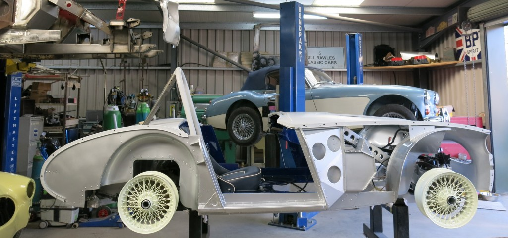"""No matter what is being re-built, Bill Rawles creates beautiful cars for his customers"""