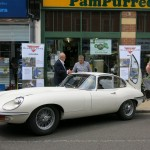 The Jaguar E Type still seems to be a very popular British Classic Car