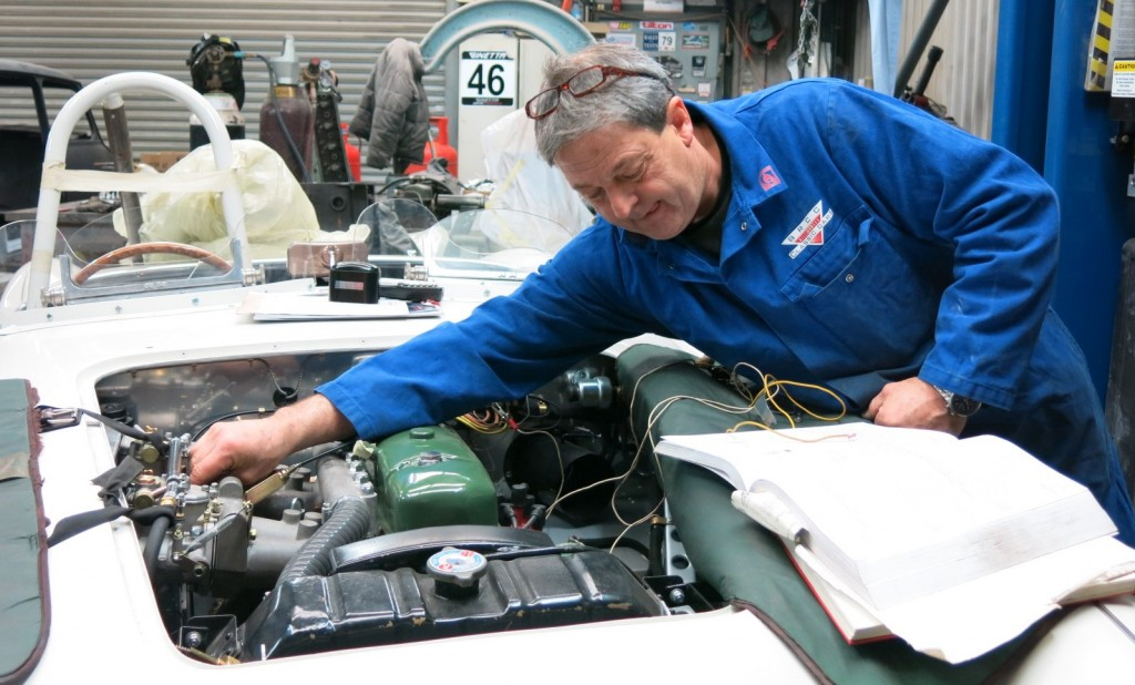"""Bill has 30 years of development knowledge to put into every engine he builds"""