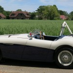 Summer 2015 Austin Healey 100S Re-manufactured to original Factory Spec is on the road and being enjoyed