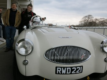 Austin Healey 100S re manufactured by Bill Rawles Classic Cars.