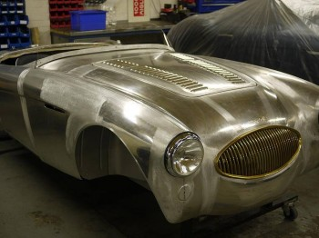 Austin Healey 100S Re-Manufactured