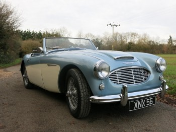 Rare Austin Healey 100-6S 1957 For Sale
