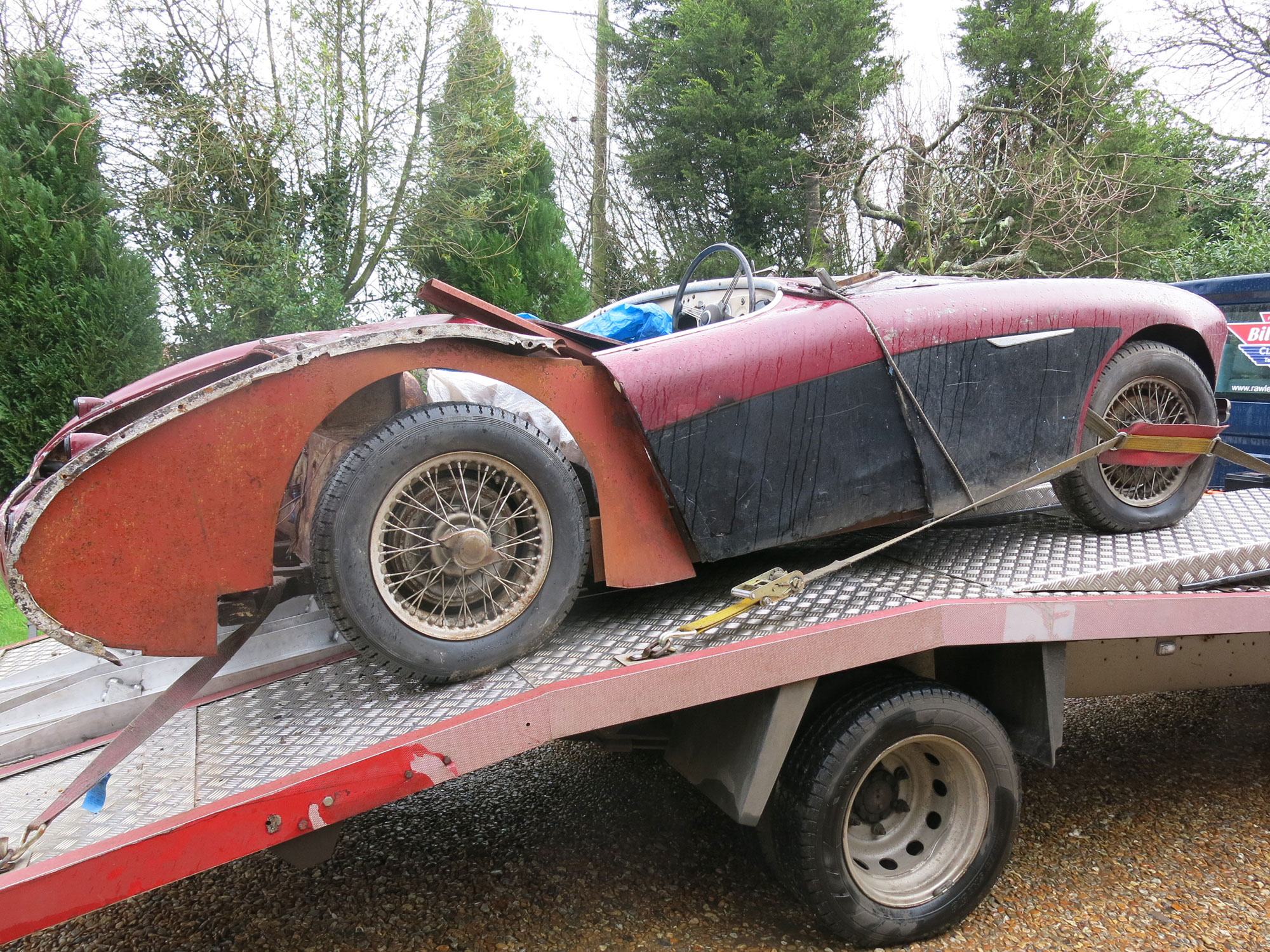 Austin Healey 100/4 Restoration Project