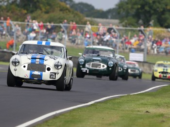 On board 2015 Castle Combe Classic