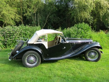 A UK home market RHD MG presented in superb condition and for sale at Bill Rawles Classic Cars