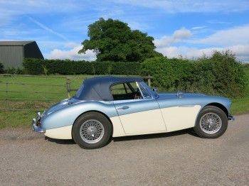 Austin Healey 3000 MK II A for sale at Bill Rawles Classic Cars, only 550 miles since new engine build