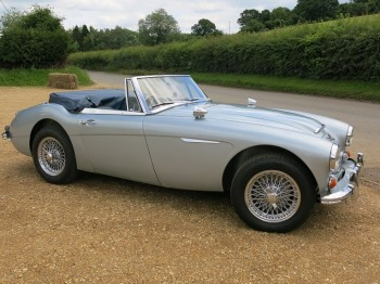 Healey 3000 MK III – UK Home Market