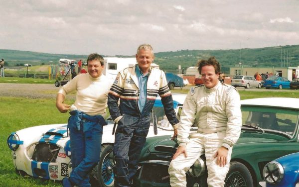 Pembrey 2005 - Bill Rawles, Davis Grace & Hugo Holland Bosworth