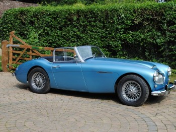 Austin Healey 3000 MK II TFO 875 for sale at Bill Rawles Classic Cars, currently LHD but can be convert to RHD