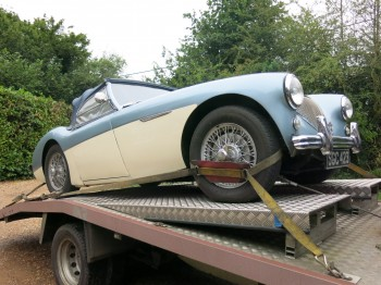 Austin Healey 100 M Spec BN2, Sold without being advertised