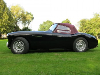 Austin Healey 100M Spec, KHJ 330, for sale at Bill Rawles Classic Cars Ltd, August 2016