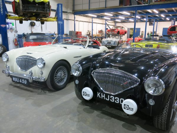 Bill Rawles Classic Cars New Workshop - Much bigger and fully equipped for all your classic car needs. Ready for the Thames Valley technical day