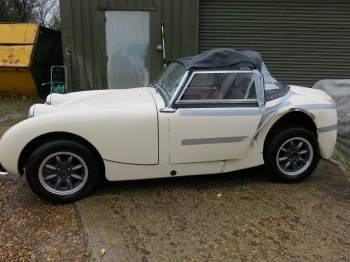 Austin Healey Frog Eye Sprite sold as a restoration project