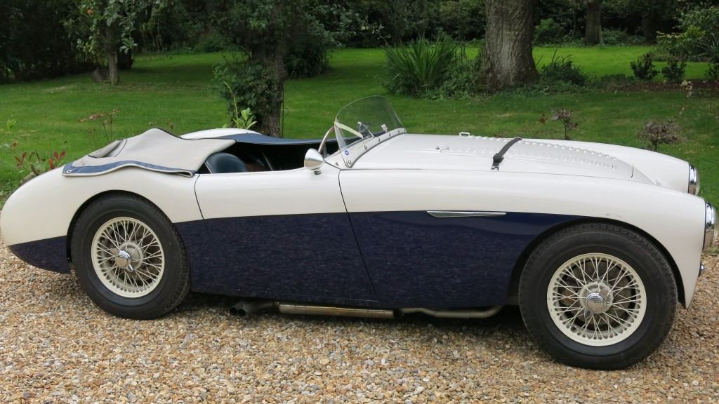 Austin Healey 100 S sold at Bill Rawles Classic Cars Ltd in 2016