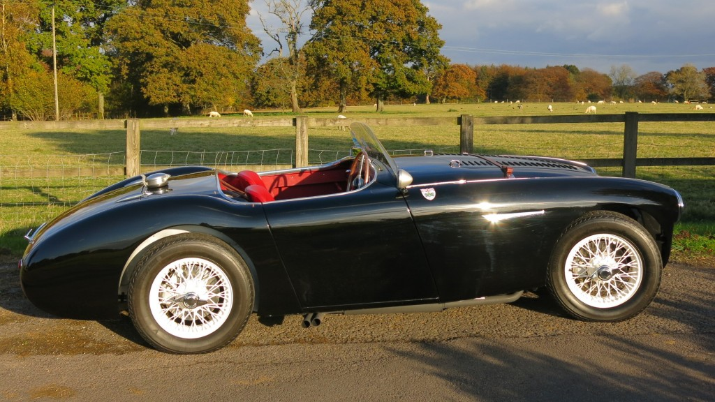 Not One but Two Austin Healey 100 S sold at Bill Rawles Classic Cars Ltd in 2016
