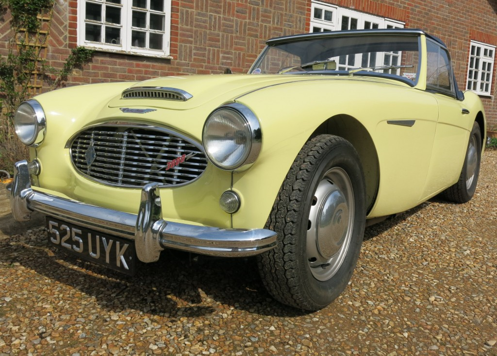 Austin Healey 3000 MK I BN7 commission built and sold