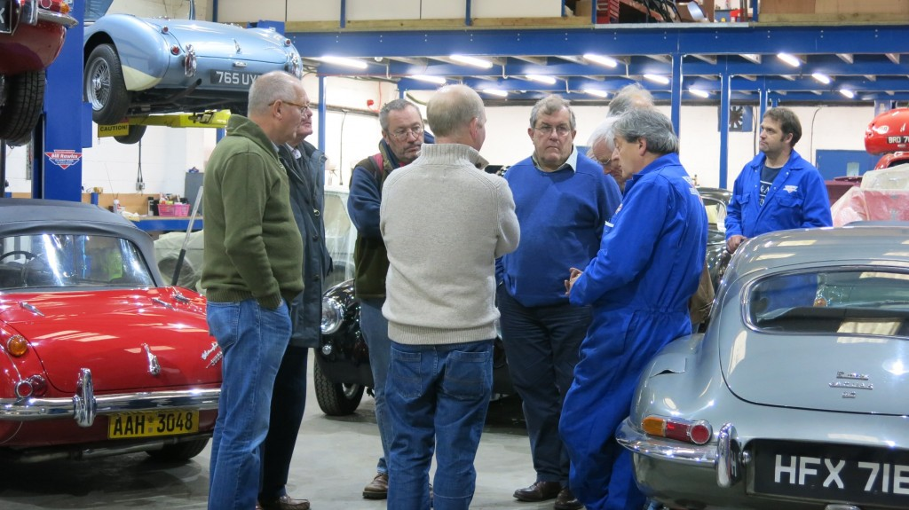 The Thames Valley Technical Morning was a success and they have asked to repeat a visit in 2017