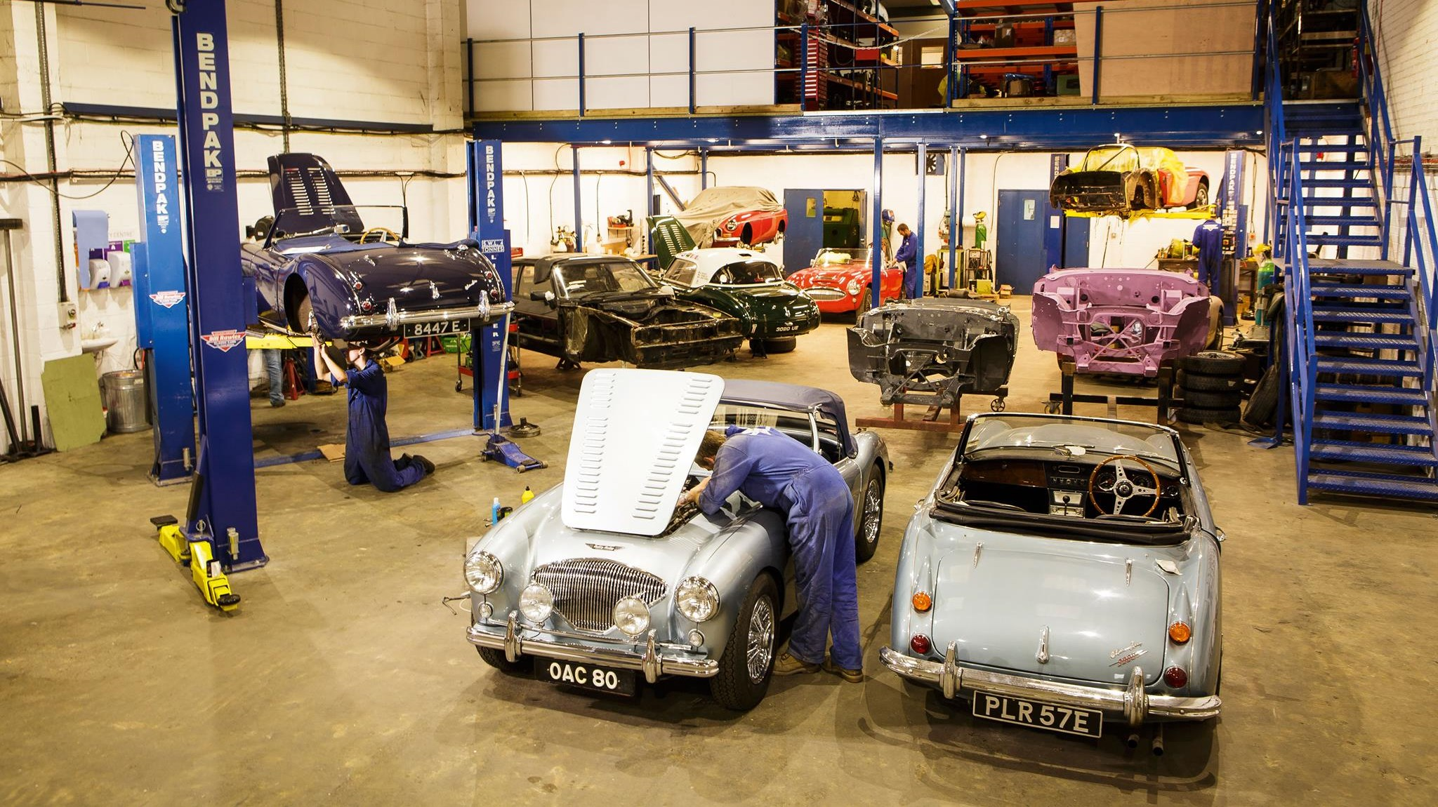 Bill Rawles Classic Cars Ltd new workshop - Unit 2, Dukes Mill, Station Approach, Medstead, Alton, Hants, GU34 5EN