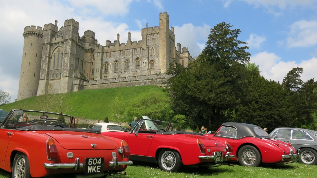 Healey Drivers Club - International Weekend 2016 - 13th - 15th May - Arundel