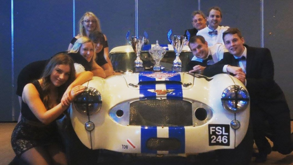 We - The Healey and all the fanily - went to The Healey Sport Annual Prize Giving and Dinner