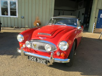 Austin Healey 3000 MKIII - Sold April 2017
