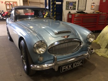 Austin Healey 3000 MKIII - sold before advertising