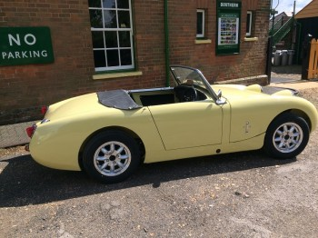 Austin Healey Frogeye Sprite for sale at Bill Rawles Classic Cars