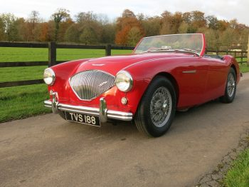 Austin Healey 100 BN2 1956 for sale at Bill Rawles Classic Cars Ltd