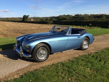 Austin Healey 3000 MK III for sale at Bill Rawles Classic Cars a stunning car with a quick viewing recommended
