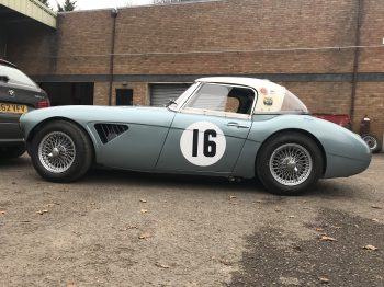 Austin Healey 3000 Race Car