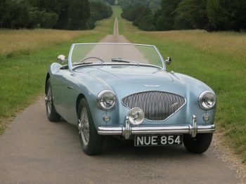 Austin Healey 100 BN1 NUE 854 Sold at Bill Rawles Classic Cars Ltd December 2017