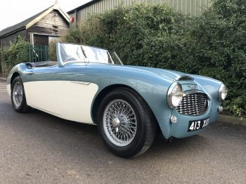 Austin Healey 100/6 uprated